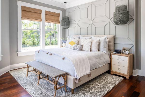 Phòng ngủ phong cách châu Âu thoáng với không gian mở - 09