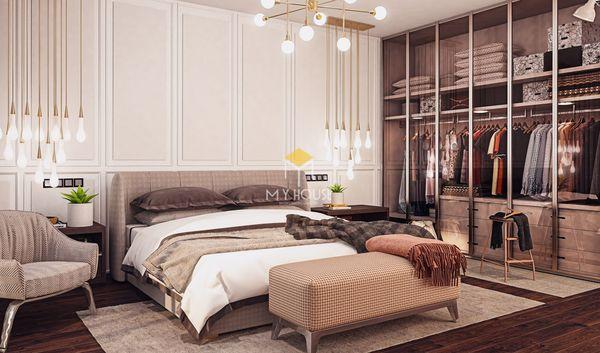 Nội thất phòng ngủ phong cách châu Âu tân cổ điển - 10