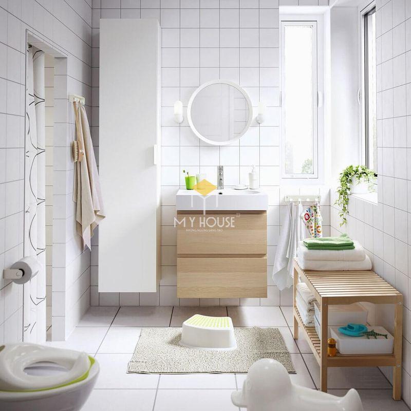 Thiết kế nhà vệ sinh đẹp cho gia đình