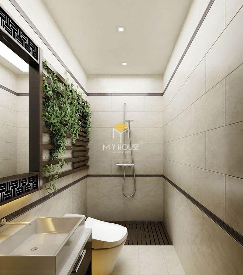 Thiết kế nhà vệ sinh và nhà tắm riêng - Mẫu nhà vệ sinh
