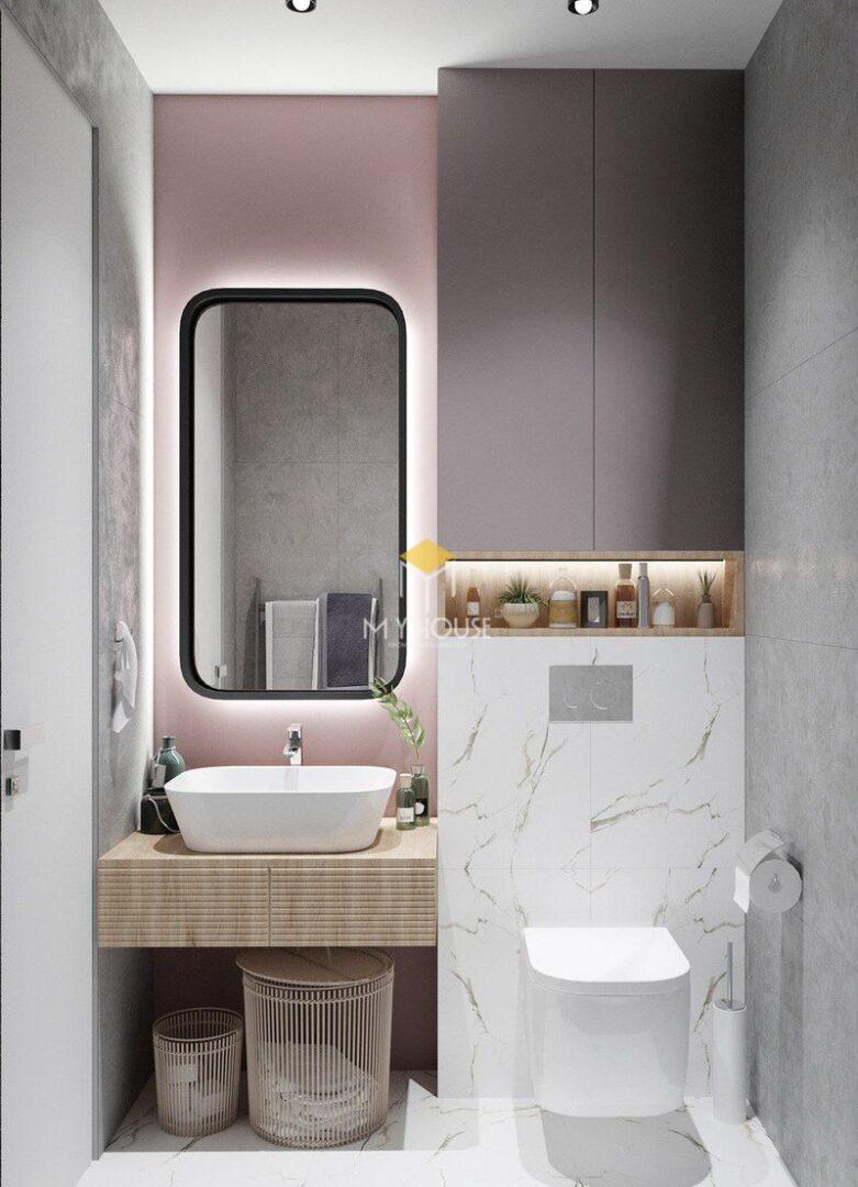Thiết kế nhà vệ sinh và nhà tắm riêng - Kích thước nhà vệ sinh từ 2m2