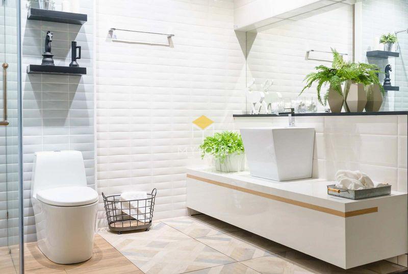 Thiết kế nhà vệ sinh và nhà tắm riêng - nhà vệ sinh thiết kế đơn giản
