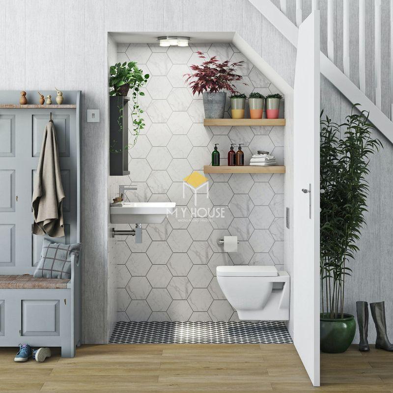 vThiết kế nhà vệ sinh và nhà tắm riêng - Mẫu nhà vệ sinh phòng khách