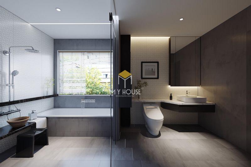 Thiết kế nhà vệ sinh riêng, phòng tắm riêng