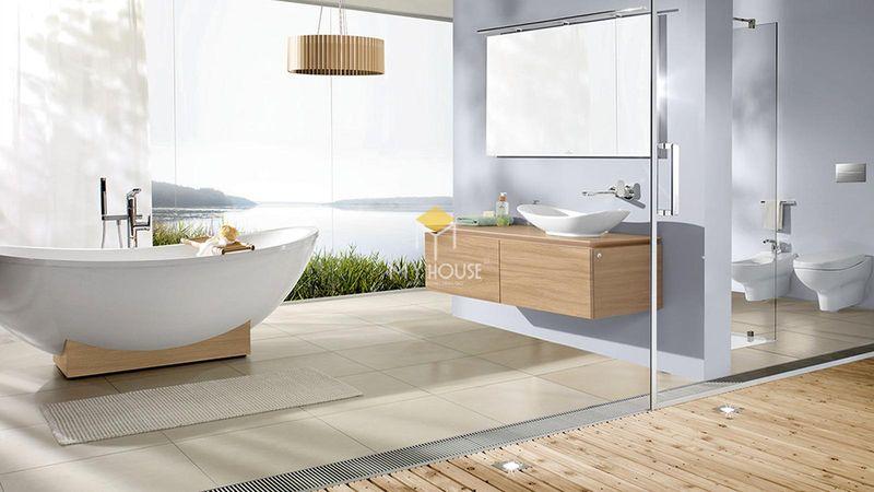 Vì sao nên thiết kế nhà vệ sinh và nhà tắm riêng?