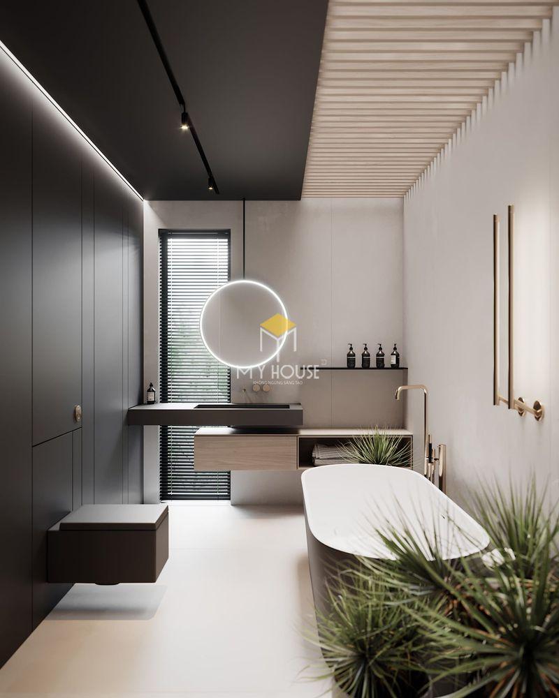 Thiết kế nhà vệ sinh và nhà tắm riêng - Nhược điểm
