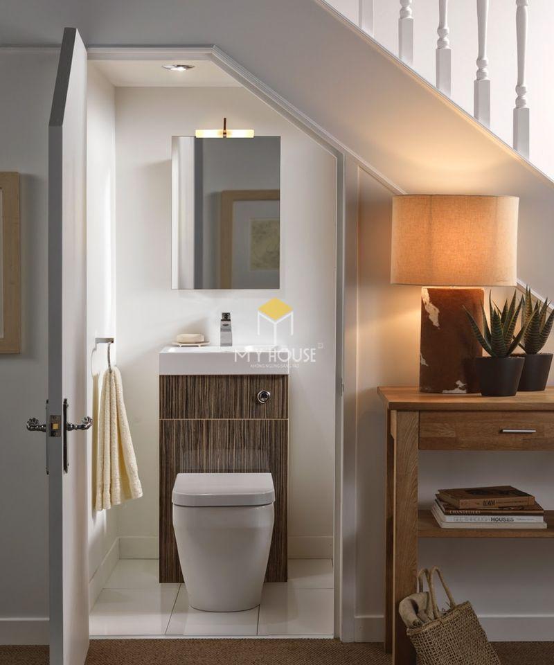 Thiết kế nhà vệ sinh và nhà tắm riêng - Ưu điểm