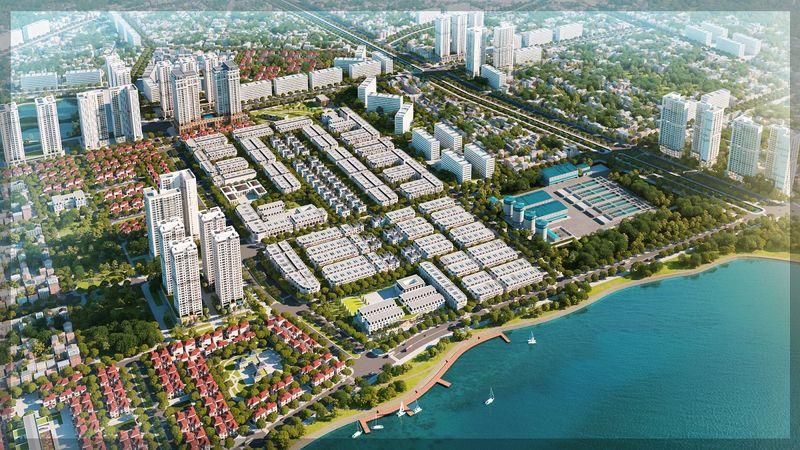 Tổng quan về khu biệt thự Louis City Hoàng Mai