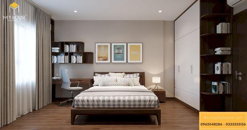 Phòng ngủ nhỏ thiết kế đơn giản và trẻ trung hơn