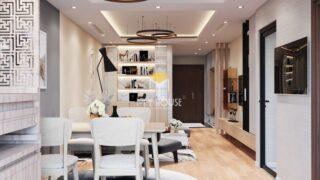 Thiết kế nội thất chung cư K35 Tân Mai 9