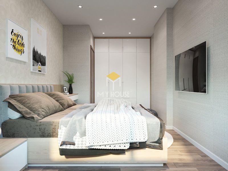 Thiết kế nội thất chung cư K35 Tân Mai 3 - Nội thất phòng ngủ 3