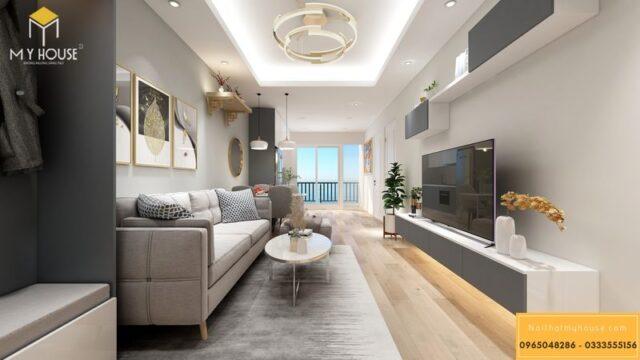 Thiết kế nội thất chung cư Sunshine Garden 4