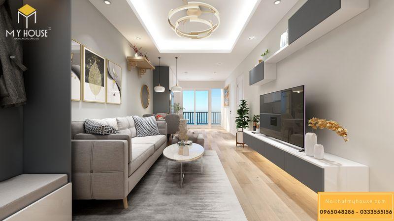 Thiết kế nội thất chung cư Sunshine Garden 3