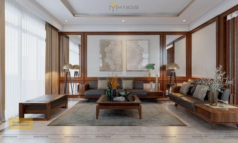 Thiết kế nội thất phân khu Hải Âu tại Vinhome Ocean Park - Biệt thự liền kề