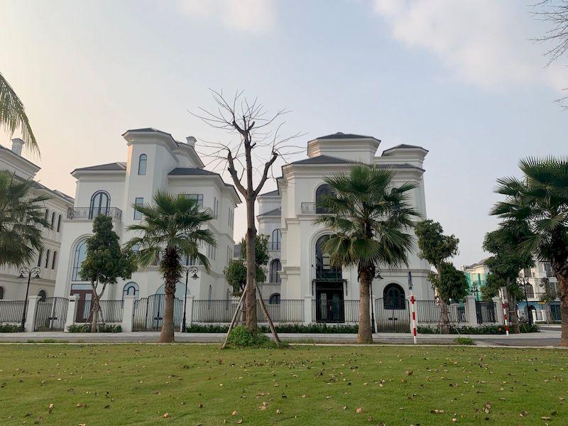 Phân khu Ngọc Trai tại Vinhomes Ocean Park thiết kế theo kiến trúc Địa Trung Hải
