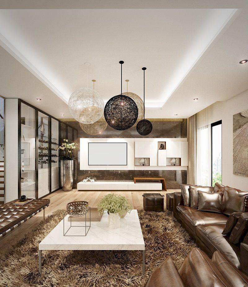 Thiết kế nội thất phân khu Sao Biển tại Vinhome Ocean Park - Phòng khác sang trọng