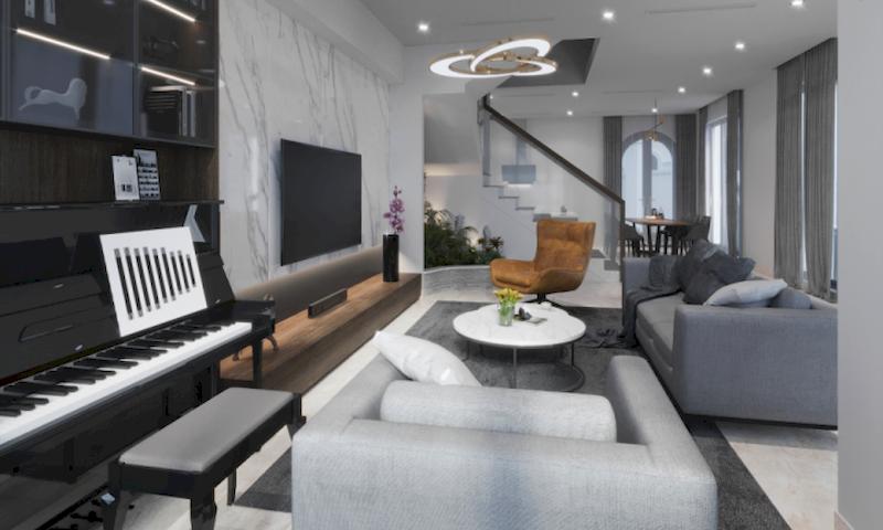 Thiết kế nội thất phân khu Sao Biển tại Vinhome Ocean Park - Biệt thự liền kề