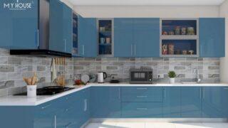 Tủ bếp picomat cánh phủ acrylic 6