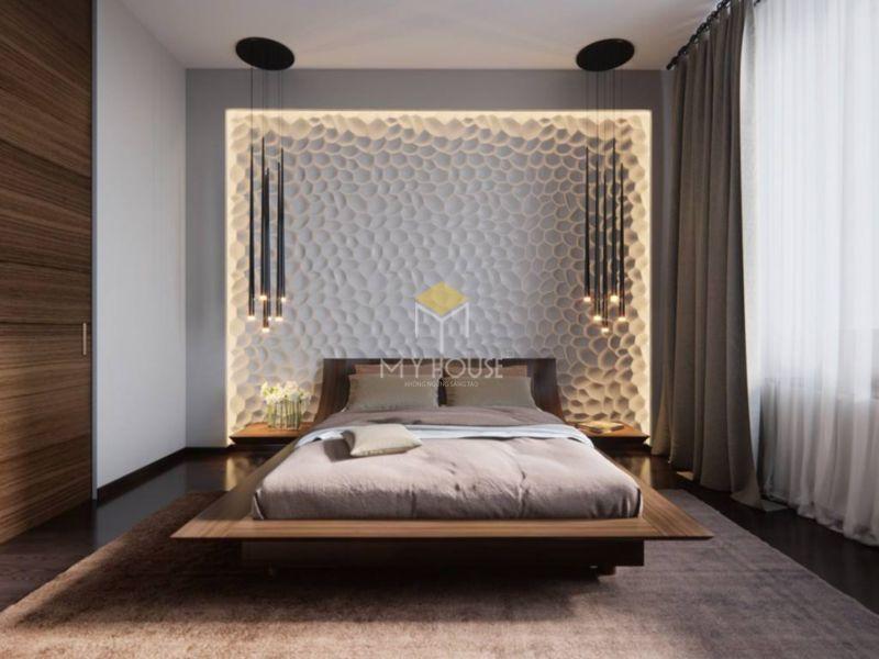 Mẫu vách đầu giường đẹp