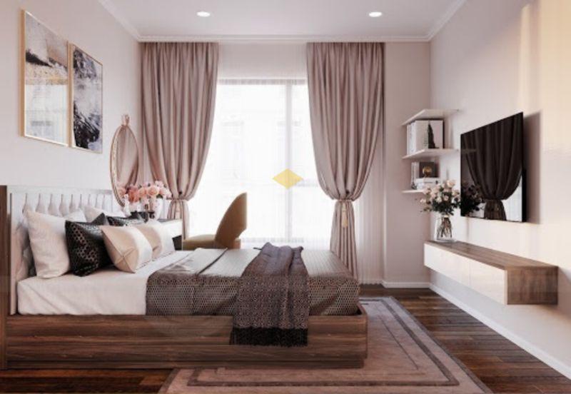 Trang trí đầu giường bằng tranh ảnh