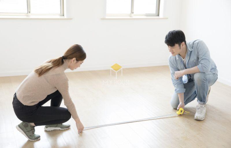 Cách tính diện tích phòng theo mặt sàn