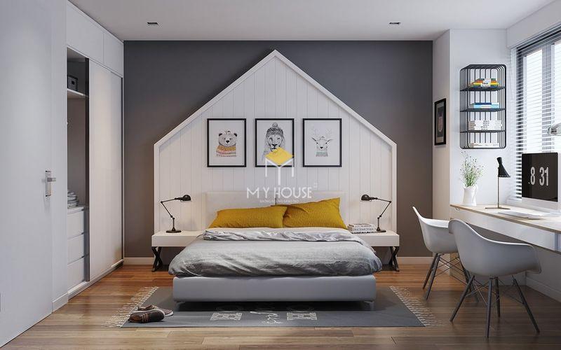 Diện tích phòng ngủ nhà cấp 4 - phòng ngủ 14m2