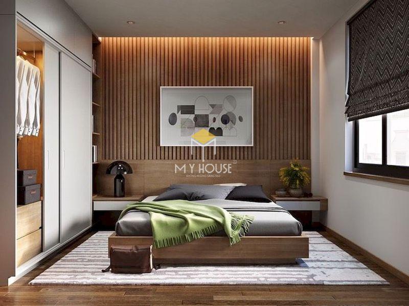 Diện tích phòng ngủ nhà cấp 4 - phòng ngủ 12m2