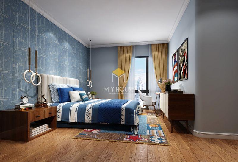 Diện tích phòng ngủ nhà cấp 4 hiện đại
