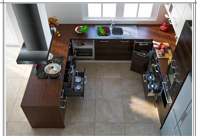 Vì sao nên thiết kế phòng bếp có cửa sổ?