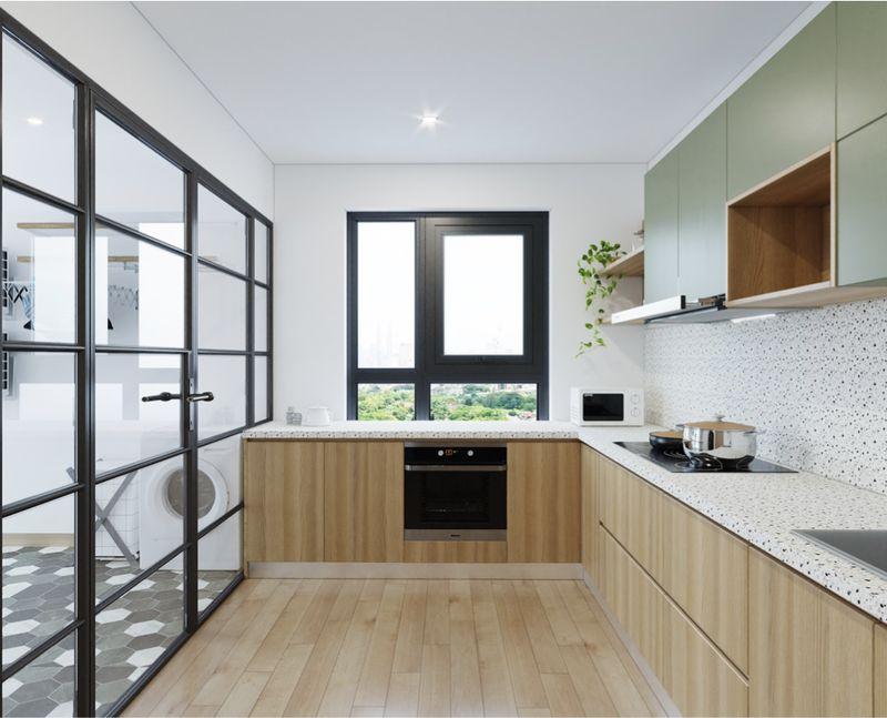 Kiểu dáng của cửa sổ phòng bếp