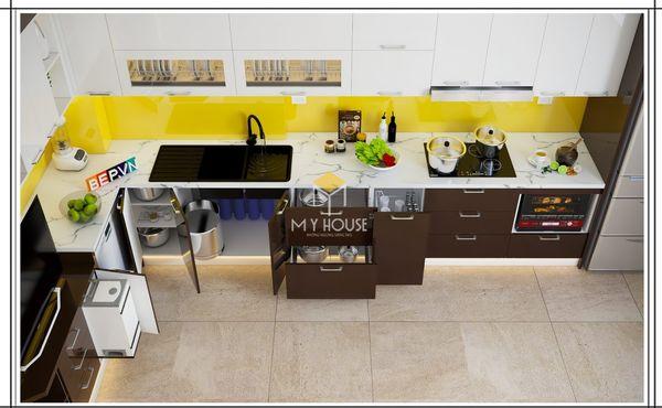 Nội thất nhà bếp thông minh: Mua tủ bếp thông minh, thiết kế nhiều ngăn tiện lợi
