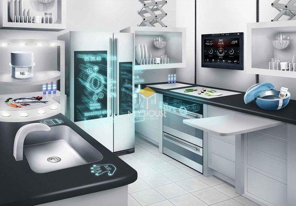 Nội thất nhà bếp thông minh: Sử dụng các thiết bị thông minh phục vụ nấu nướng