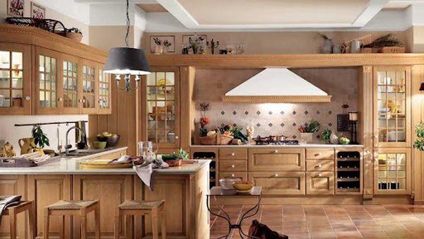 Nội thất phòng bếp gỗ tự nhiên 13