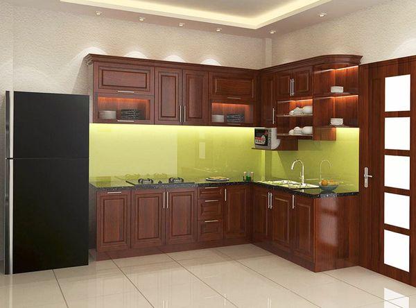 Tủ bếp từ gỗ tự nhiên đắt hơn do nguyên liệu hiếm - 17