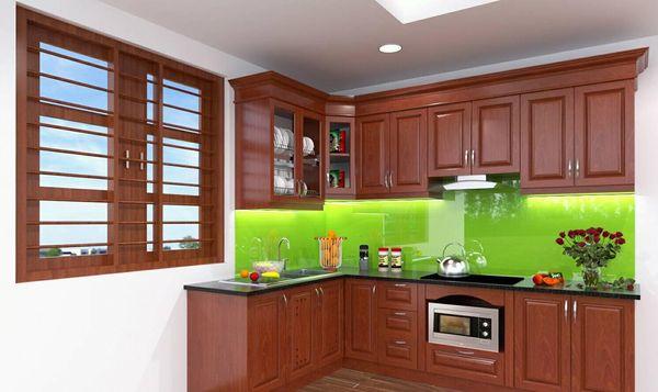 Nội thất phòng bếp gỗ tự nhiên - 21
