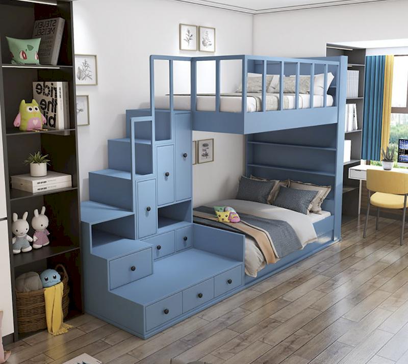 Thiết kế nội thất phòng ngủ có giường tầng