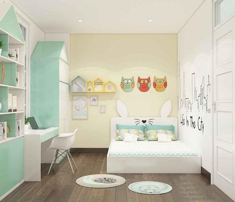 Phòng ngủ cho bé gỗ công nghiệp