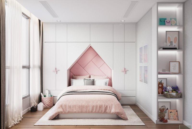 Thiết kế nội thất phòng ngủ trẻ em đẹp và sáng tạo