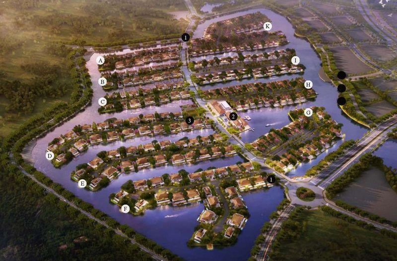 Tổng quan về khu biệt thự đảo Ecopark