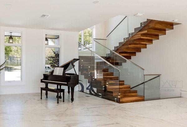 Lưu ý về hình dáng cầu thang phù hợp với ngôi nhà