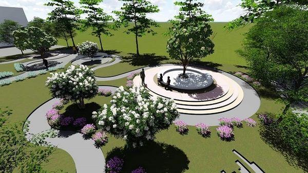 Cảnh quan sân vườn nâng tầm giá trị thẩm mĩ tổng thể