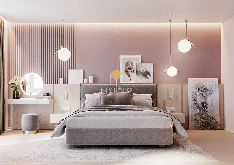 Thảm trang trí phòng ngủ màu sắc ấn tượng