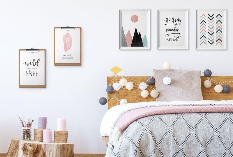 Một số món đồ decor phòng ngủ handmade