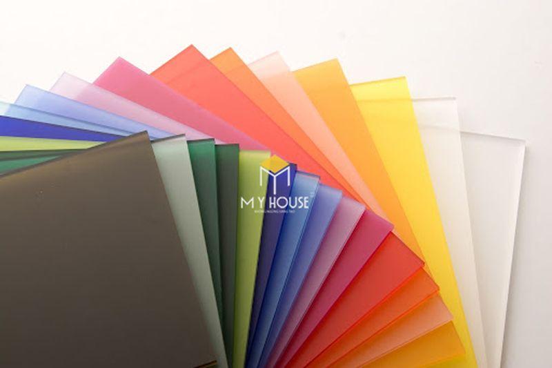 Chất liệu phủ bề mặt gỗ công nghiệp - Acrylic