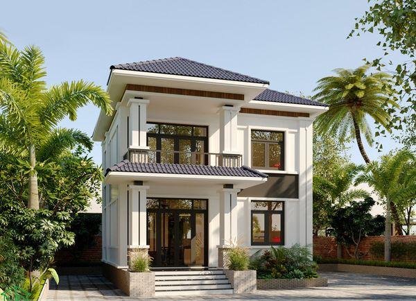 Đơn giá thiết kế, thi công nhà 2 tầng ở nông thôn
