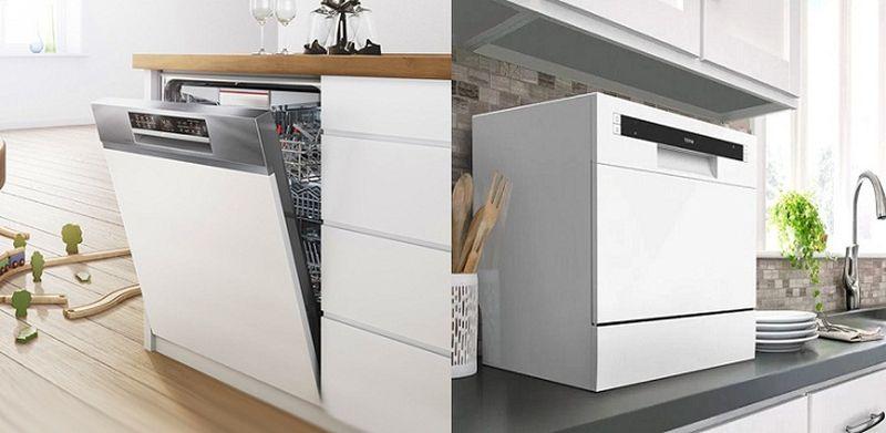 Mẫu tủ bếp có máy rửa bát 14