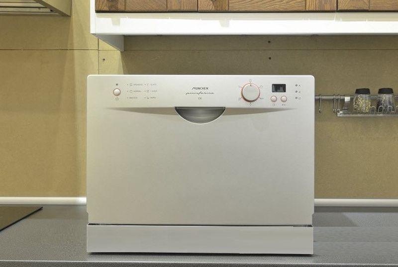 Tủ bếp có máy rửa bát âm tủ để bàn 17
