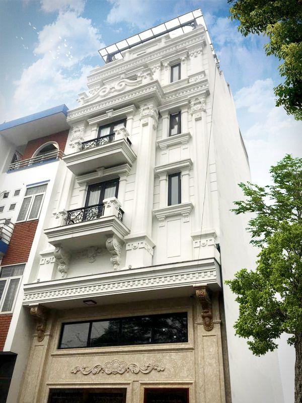 Nhà phố tân cổ điển 5 tầng 01