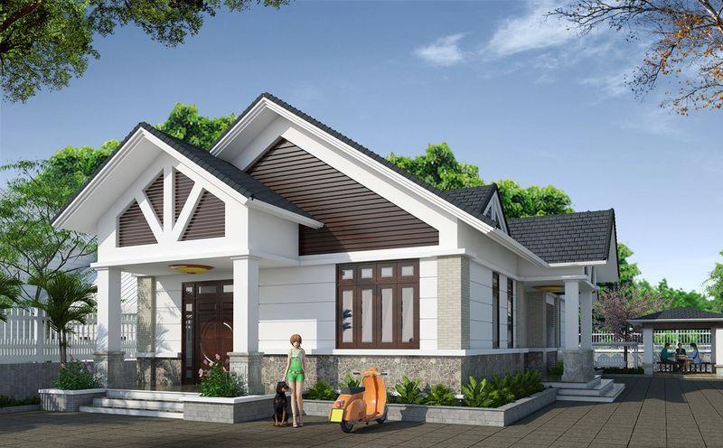 Xu hướng thiết kế nhà mái thái