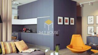 Phòng khách chung cư nhỏ 8